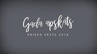 2018. gada apskats   Prieka Vēsts